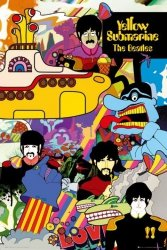 The Beatles Yellow Submarine - plakat