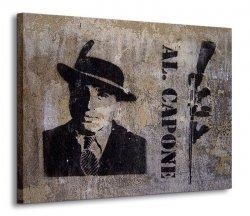 Obraz na ścianę - Al Capone - 120x90 cm