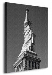 Obraz do salonu - Statua Wolności, New York - 90x120 cm