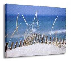 Obraz na płótnie - Wydmy na piasku - 120x90 cm