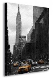 Obraz do salonu - Żółte taksówki, New York - 90x120 cm