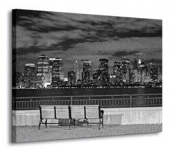 Obraz na płótnie - New York, Liberty State Park - 120x90 cm