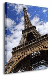 Obraz na ścianę - Wieża Eiffel, Paryż - 90x120 cm