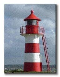 Obraz na ścianę - Latarnia morska - 90x120 cm