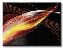 Obraz na ścianę - Nowoczesna abstrakcja - 120x90 cm