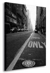 Obraz ścienny - New York, only - 90x120 cm