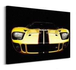 Sportowy Samochód - Obraz na płótnie