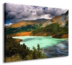 Akkem Lake - Obraz na płótnie