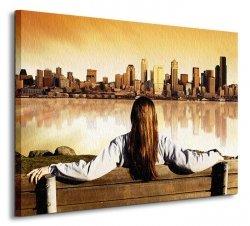 City View Sunrise - Obraz na płótnie