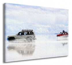 Bolivian salt-flats - Obraz na płótnie