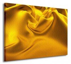 Złote płótno - Obraz na płótnie
