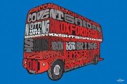 Visit London (Routemaster) - plakat