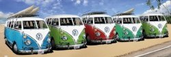 VW Californian Camper Beach - plakat