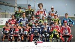 Moto G.P (Riders 2011) - plakat