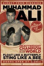 Muhammad Ali (Vintage) - plakat