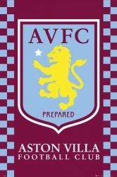 Aston Villa Godło - plakat