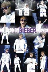 Justin Bieber Live - plakat
