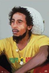 Bob Marley Painting - plakat