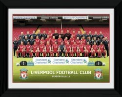 Obraz - Zdjęcie - Liverpool Team Photo 11/12