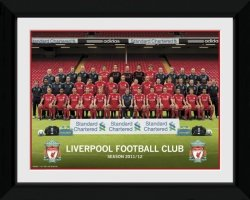 Obraz na ścianę - Liverpool Team Photo 11/12