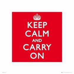 Keep Calm - reprodukcja