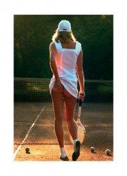 Tenisistka - reprodukcja