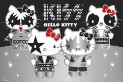Hello Kitty Kiss Group - No Germany - plakat