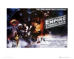 Star Wars Empire Strikes Back - reprodukcja