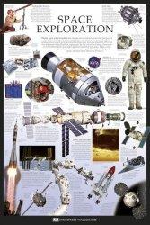 Eksploracja przestrzeni - Dorling Kindersley - plakat