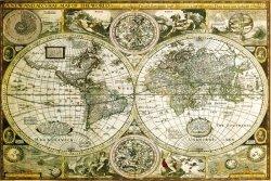 World Map Historical - plakat