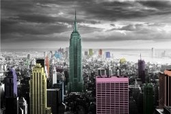 New York (Colour Splash) - plakat