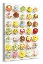 Cup Cakes - Obraz na płótnie