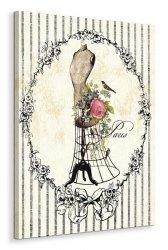 Mannequin Rose - Obraz na płótnie