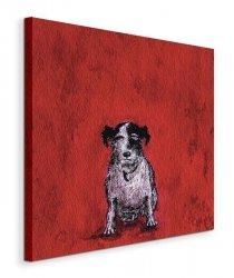 Small Dog - Obraz na płótnie