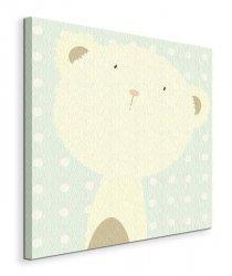 Baby Boo Bear  - Obraz na płótnie