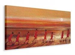 Samburu Sunset - Obraz na płótnie