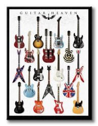 Guitar Heaven - Obraz na płótnie