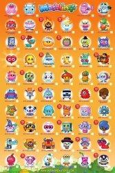 Moshi Monsters Tick Chart 2 - plakat