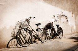 Fototapeta ścienna - Stare rowery, Włochy - 175x115 cm