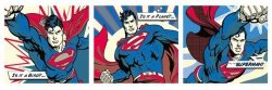 Superman (Pop Art Triptych) - plakat
