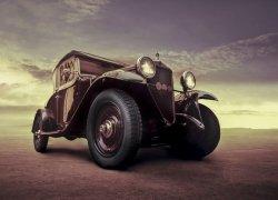 Fototapeta ścienna - Luksusowy samochód, Vintage - 254x183 cm