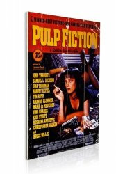 Pulp Fiction (Cover) - obraz na drewnie