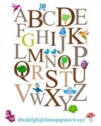 Alfabet II - plakat