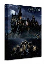 Obraz na płótnie  Harry Potter (Hogwarts School) - 30x40 cm