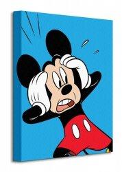 Mickey Mouse (Shocked) - Obraz na płótnie