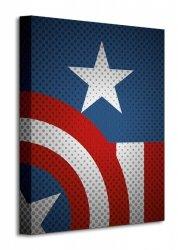 Avengers Assemble (Captain America Torso) - Obraz na płótnie