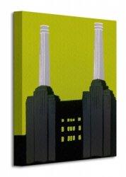 Obraz na płótnie  Battersea Power Station - 30x40 cm