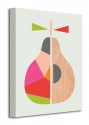 Little Design Haus (Geometric Pear) - Obraz na płótnie
