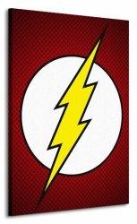 Dc Comics (The Flash Symbol) - Obraz na płótnie