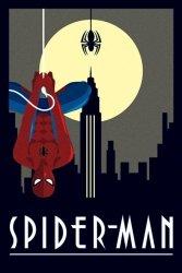 Marvel Deco - Wiszący Spider Man - plakat